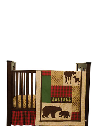 Trend Lab® Northwoods 3-Piece Crib Bedding Set