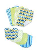 Trend Lab® Levi 4 Pack Bib and 4 Pack Burp