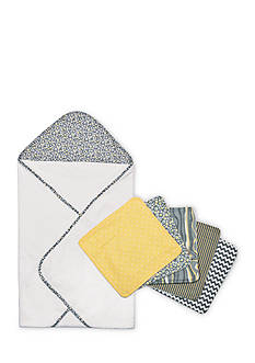 Trend Lab® Hello Sunshine Hooded Towel and Wash Cloth Bouquet Set