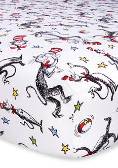 Trend Lab Dr. Seuss The Cat in the Hat Fitted Crib Sheet