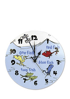 Trend Lab® Dr. Seuss™ One Fish, Two Fish Wall Clock