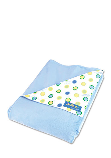 Trend Lab® Dr. Seuss™ Oh, The Places You'll Go! Blue Receiving Blanket