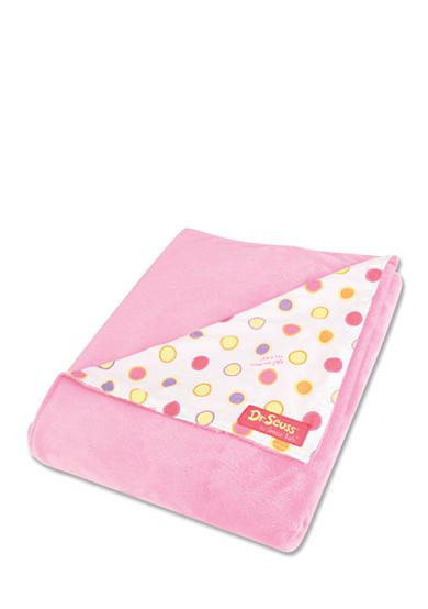 Trend Lab® Dr. Seuss™ Oh, The Places You'll Go Pink Receiving Blanket