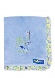 Trend Lab® Dr. Seuss Oh, The Places You'll Go! Receiving Blanket