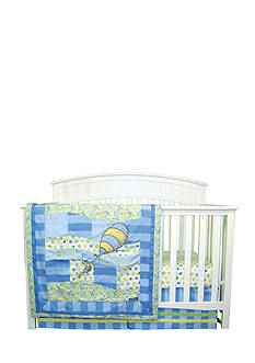 Trend Lab® Dr. Seuss™ Oh, The Places You'll Go! Blue 3-Piece Crib Bedding Set