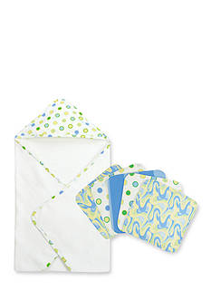 Trend Lab Dr. Seuss™ Oh, The Places You'll Go! Blue Hooded Towel and 5 Pack Wash Cloth Set