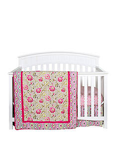 Waverly® Jazzberry 3-Piece Crib Bedding Set - Online Only