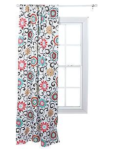 Trend Lab Waverly Pom Pom Play Floral Window Drape