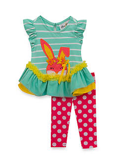 Rare Editions 2-Piece Bunny Top and Legging Set