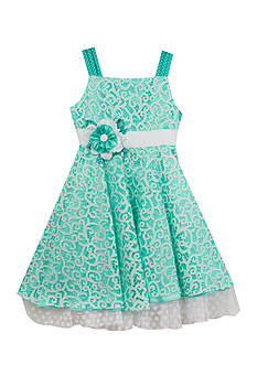 Rare Editions Lace Dress Toddler Girls