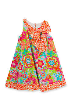 Rare Editions Floral Swing Dress Toddler Girls