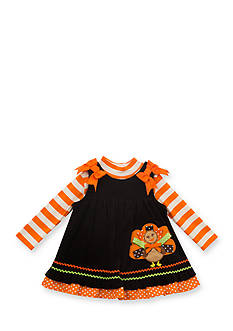 Rare Editions Corduroy Turkey Jumper Toddler Girl