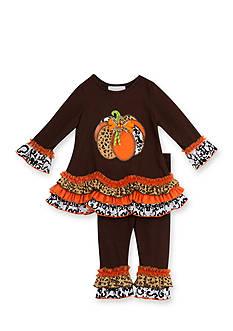 Rare Editions Animal Print Pumpkin Set Infant/Baby Girls