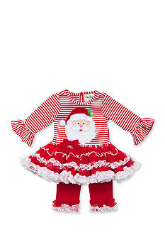 Rare Editions Red Santa Tutu Set