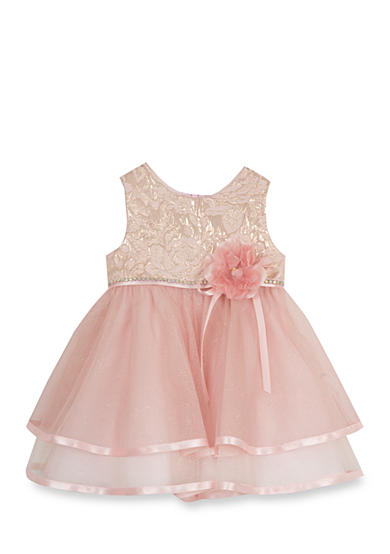 Rare Editions Brocade Social Dress Toddler Girls