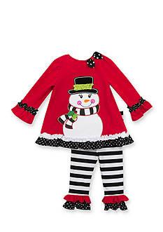 Rare Editions Snowman Tunic & Legging Set Infant/Baby Girls