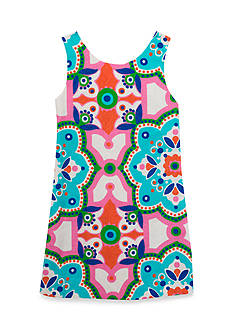 Rare Editions Printed Shift Dress Toddler Girls