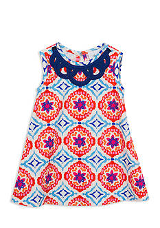 Counting Daisies by Rare Editions Printed Shift Dress Toddler Girls