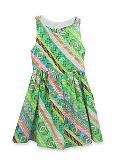 Rare Editions Multi Print Soft Dress Toddler Girls