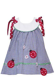 Rare Editions Infant Girl Ladybug Sundress