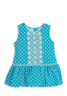 Rare Editions Polka Dot Dress