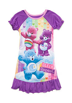 Care Bears™ 'Play. Sleep. Repeat.' Nightgown Toddler Girls