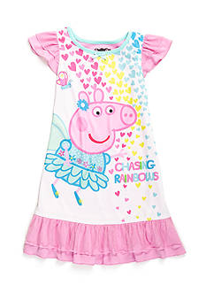 Peppa Pig™ Rainbow Night Gown Toddler Girls