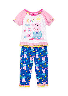 Peppa Pig™ 2-Piece Pajama Set Toddler Girls