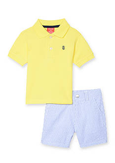 IZOD 2-Piece Polo and Short Set Toddler Boys