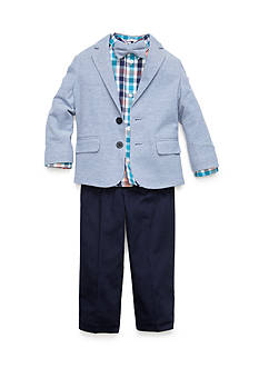 IZOD 4-Piece Chambray Jacket and Pants Set Toddler Boys