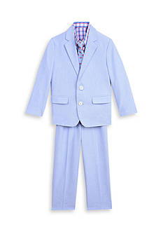 IZOD 4-Piece Oxford Suit Set Toddler Boys