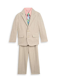 IZOD 4-Piece Herringbone Jacket Set Toddler Boys
