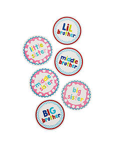 Mud Pie® Sibling Milestone Stickers