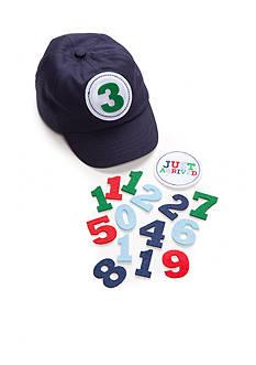 Mud Pie® Milestone Baseball Hat