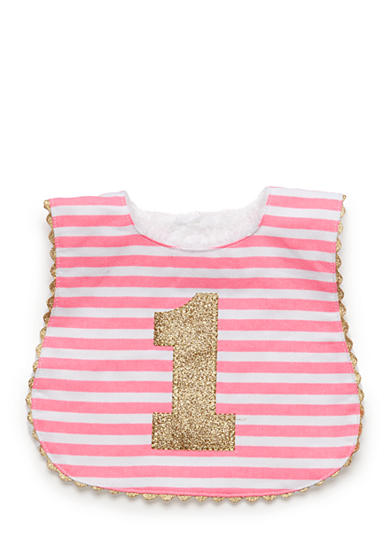 Mud Pie® Stripe Glitter Bib
