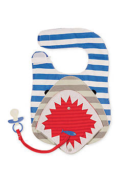 Mud Pie® Shark Flap Mouth Bib