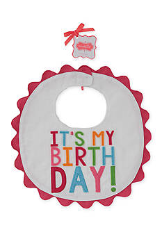 Mud Pie® It's My Birthday Bib