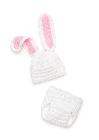 Mud Pie® 2-Piece Knit Bunny Hat and Bloomers Set
