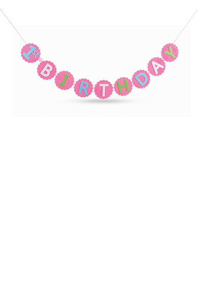 Mud Pie® First Birthday Banner