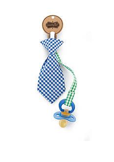 Mud Pie® Necktie Pacifier Clip
