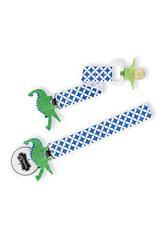 Mud Pie® Geometric Alligator Pacifier Clip