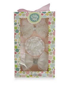 Little Me 3-Pack Headwrap Boxed Set