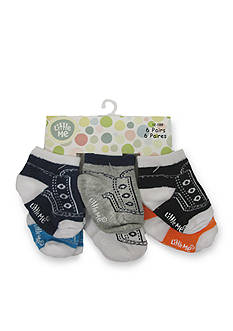 Little Me 6-Pack Sneaker Sock Set