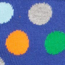 Happy Socks: Blue Combo Happy Socks 6-Pack Multi-Print Socks Box Set