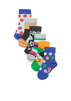Happy Socks® 6-Pack Multi-Print Socks Box Set