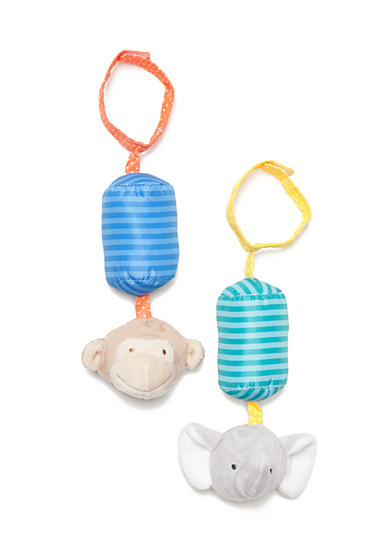 Carter's® Learn and Play Monkey and Elephant Rattle Set