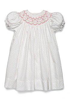 Petit Ami Rosebud Patterned Puff Sleeve Dress