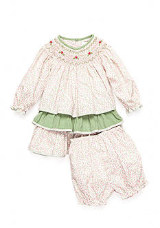 Petite Ami 2-Piece Floral Bloomer and Dress Set Baby/Infant Girl