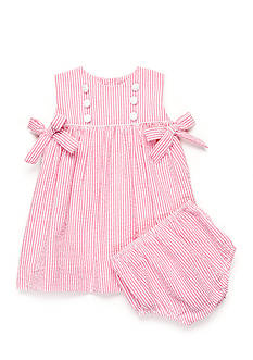 Petit Ami 2-Piece Seersucker Dress Set