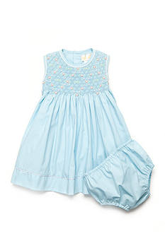 Petit Ami Rosette Dress Baby/Infant Girls